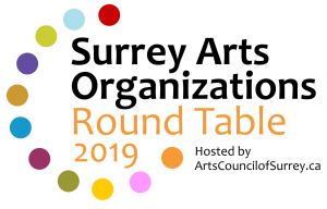SURREY ARTS Round Table 2019 June 1st @ Newton Cultural Centre