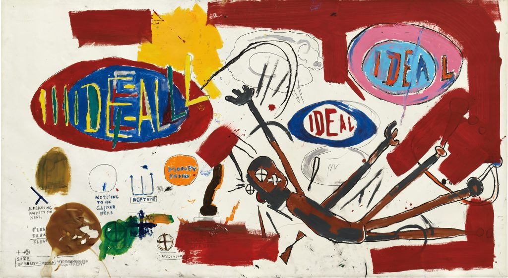 Jean-Michel Basquiat, Victor sold for $8 million dollars US